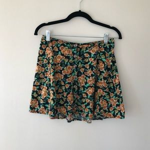 L.A. Hearts Pacsun Floral Skirt
